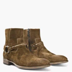 John Varvatos  Eldridge Harness boot. Sz 10.5